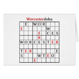 worcesterdoku card