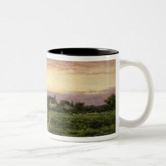 Worcestershire Cottages, 1912 Mug