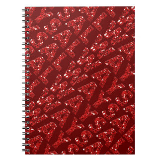 word08 RED WHITE ALWAYS WORD COMMENT STATEMENT RE Spiral Notebook