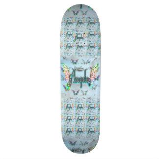 Word Art Angel with Wings & Halo Skateboard