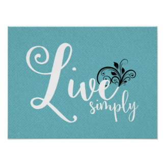 """Word Art """"Live Simply"""" 