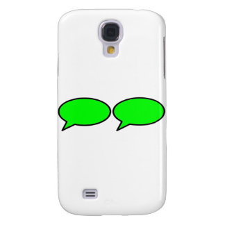 Word Bubble 2 Left Green The MUSEUM Zazzle Gifts Samsung Galaxy S4 Case