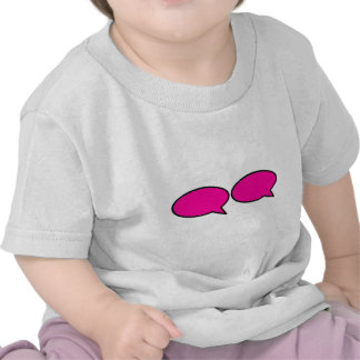 Word Bubble 2 Right Magenta The MUSEUM Zazzle Gift Shirt