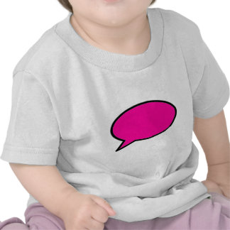Word Bubble Left Magenta The MUSEUM Zazzle Gifts Tshirts