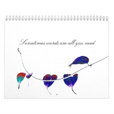 Word Calender Calendars