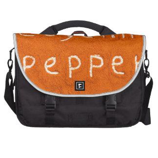 Word Cayenne pepper written in powder Laptop Computer Bag