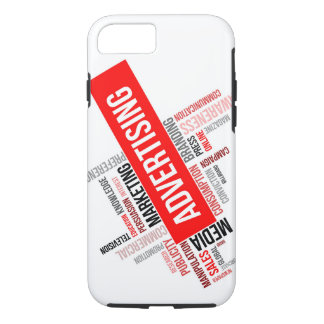 word cloud - advertising iPhone 8/7 case