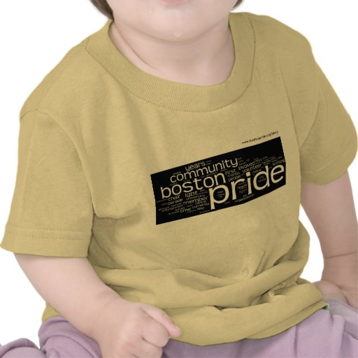 Word Cloud Baby T-shirts