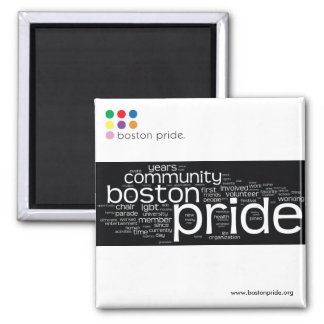 Word Cloud Magnet Square