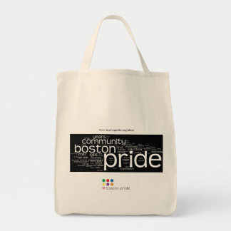 Word Cloud Organic Grocery Canvas Bags