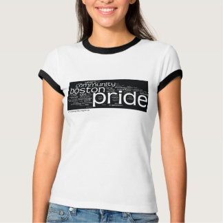 Word Cloud Ringer T-Shirt