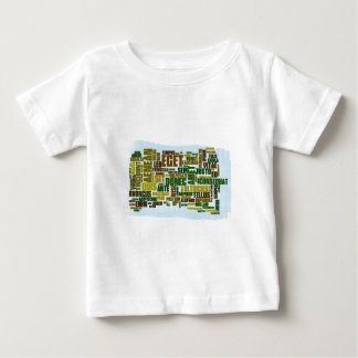 Word cloud word cloud Lorem ipsum Baby T-Shirt