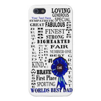 Word Collage Fathers Day Case Savvy iPhone 5 Case