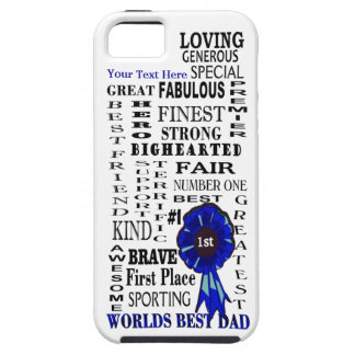 Word Collage Fathers Day Vibe iPhone 5 Case