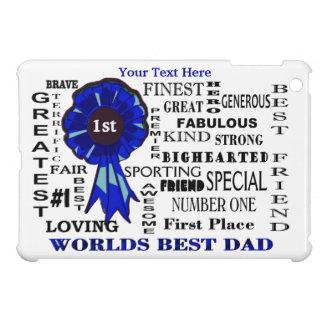 Word Collage Worlds Best Dad iPad Mini Case