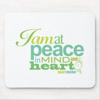 "WORD® DIARIO ""paz interna"" Mousepad"