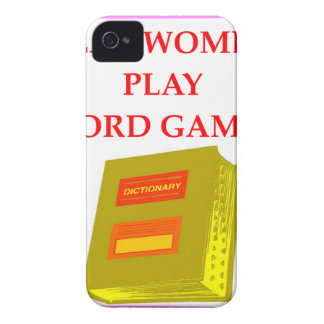 word games iPhone 4 cases