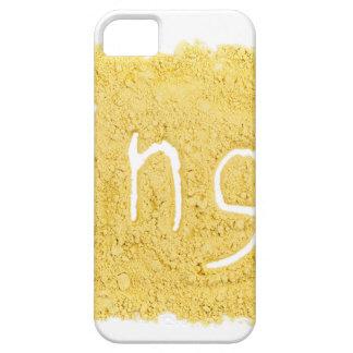 Word Ginger written in spice powder iPhone SE/5/5s Case