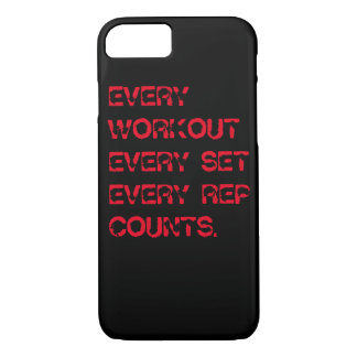 Word hard iPhone 7 Cover