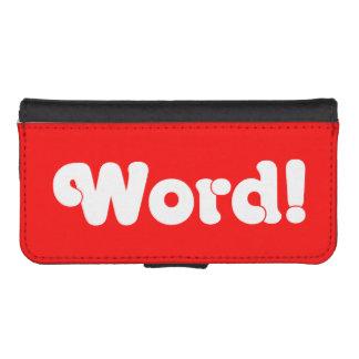 Word! iPhone SE/5/5s Wallet