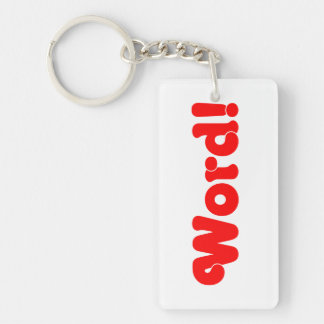 Word! Keychain