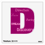 Word Letter Wall Decals