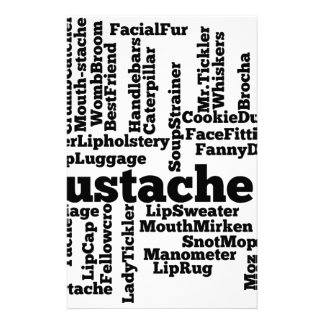 Word mashup stationery