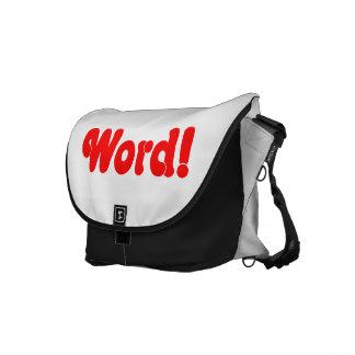Word! Messenger Bag
