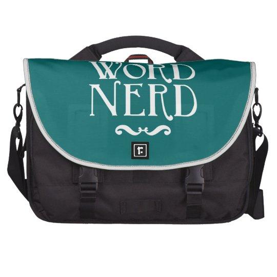 Word Nerd Bag For Laptop