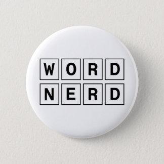 Word Nerd Button