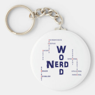 Word Nerd Keychains