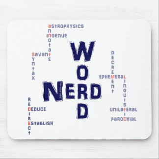 Word Nerd Mouse Pad