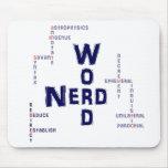 Word Nerd Mousepads
