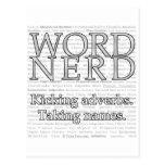 Word Nerd Postcard