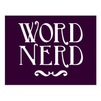 Word Nerd Postcards