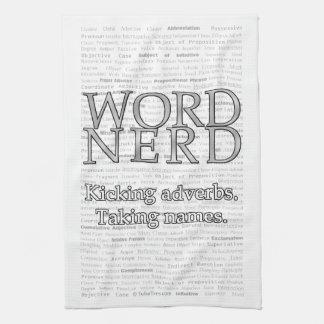Word Nerd Towel