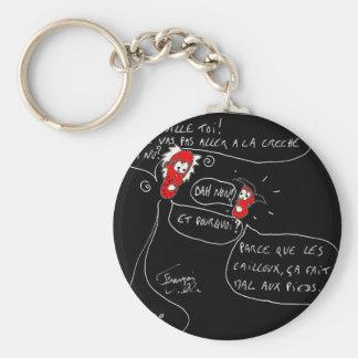 Word of child - François City Keychain