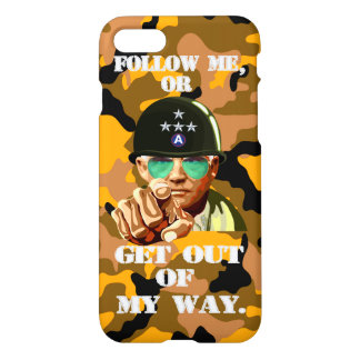 Word of Patton iphone7 iPhone 7 Case