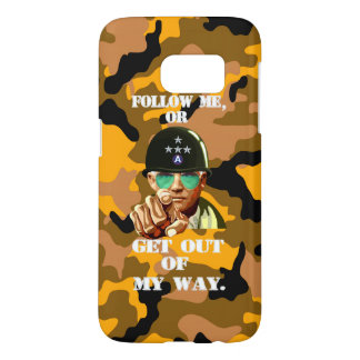 Word of Patton note7 Samsung Galaxy S7 Case