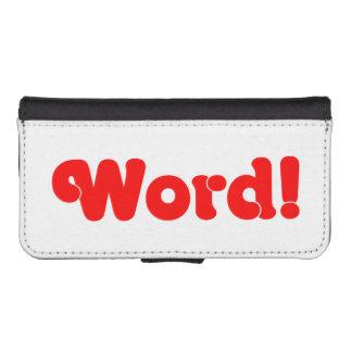 Word! Phone Wallets