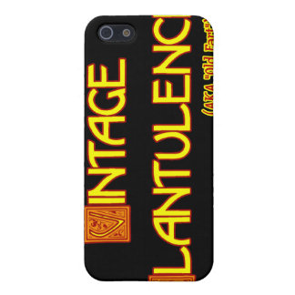 Word Play: Vintage Flatulence iPhone SE/5/5s Case