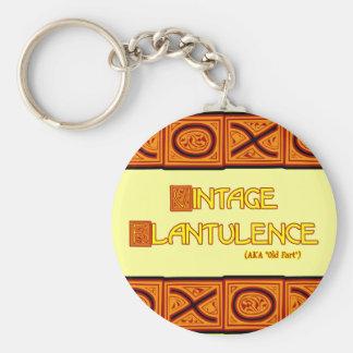 Word Play: Vintage Flatulence Keychain