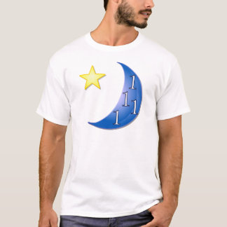 Word Puzzle Ones in a Blue Moon T-Shirt