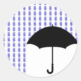 Word Rain Sticker