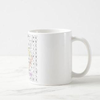Word Search Coffee Mug