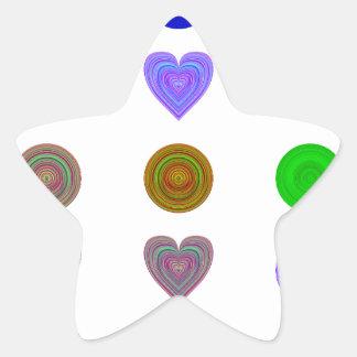 word spectrum star sticker