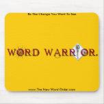Word Warrior mousepad