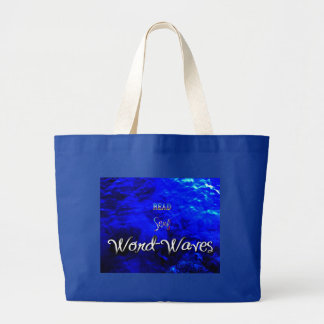 Word-Wave Jumbo Tote Bag
