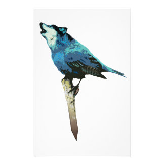 Word - Wolf-Bird Stationery
