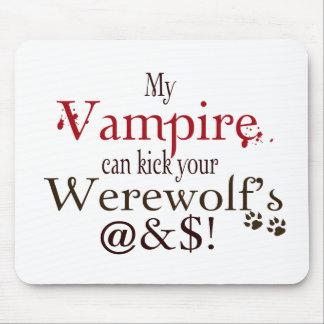 wordart del vampiro tapete de ratones